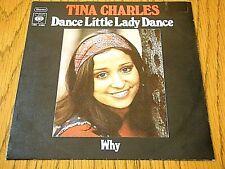 "TINA CHARLES - DANCE LITTLE LADY DANCE  7"" VINYL PS"