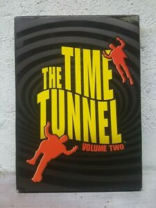 The Time Tunnel DVD 1966 Volume Vol. 2 Two DVD (4-Disc Set) OVER 12 HOURS ! RARE
