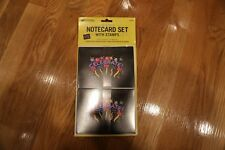 2011 Neon Celebrate! Notecard Set with 8 Forever Stamps Sealed
