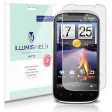 iLLumiShield Matte Screen Protector w Anti-Glare/Print 3x for HTC Amaze 4G