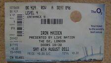 Iron Maiden Live Nation at O2 ticket