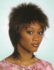 Chestnut Brown Spikey Layered Full Wig Hairdo - Billie