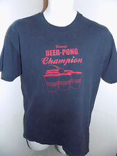 Steve @ Berry's Country Beer Pong Champion T Shirt Size Medium Blue