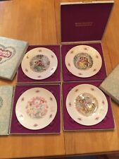 Royal Doulton Valentine's Day Plate 1977 1978 1979 1980 in Boxes Great Condition