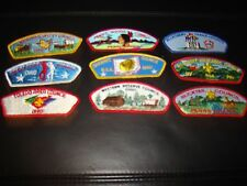SHOULDER PATCHES BOY SCOUTS OF AMERICA LOT OF 9