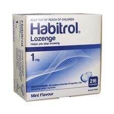 Habitrol Nicotine 1mg Lozenge MINT flavour 864pcs sugar free 4boxes QUIT smoking