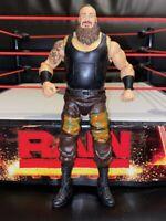 ELITE 52 BRAUN STROWMAN WRESTLING kid toy Play RARE WWE Mattel action figure