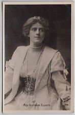 POSTCARD - Edwardian actress Gertrude Elliott, pearls & corset, glamour fashion
