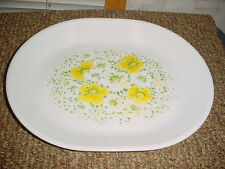 CORELLE APRIL 12.25 IN OVAL SERVING PLATTER VGUC FREE USA SHIPPING