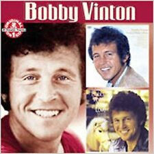 BOBBY VINTON SEALED WITH A KISS / WITH LOVE CD + INSERT (2001, SONY MUSIC) - GD