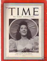 1940 Time October 28-Ethel Merman;The Burma Road;Draft