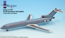 InFlight200 Braniff Airlines Ultra Grey Red Boeing 727-200 1:200 Scale N8852E