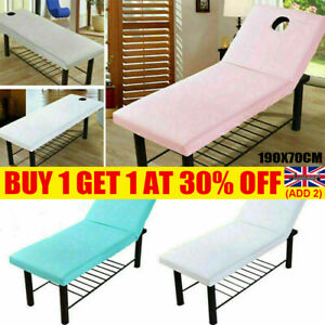 Beauty Massage Table Cover Spa Bed Salon Couch Elastic Sheet Bedding 190x70cm YE