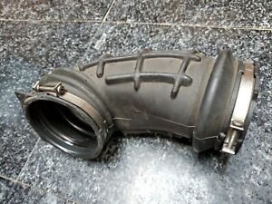 Mercedes S600 Mass airflow boot left 1201411390 600SEC SL600 OEM clamps V12