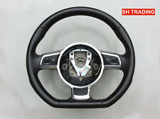 AUDI A3 S3 A4 A5 A6 TT TTS  S LINE FLAT BOTTOM MULTIFUNCTION STEERING WHEEL