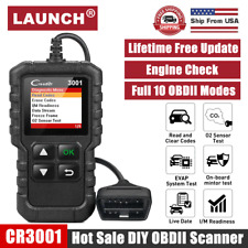 LAUNCH OBD2 Scanner Car Check Engine Fault Light Diagnostic Tool OBD Code Reader