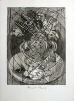 DIETER ROTH/ HEINRICH C. SCHWARZ - Komposition (214 B5). Handsignierte Radierung