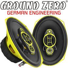 Ground Zero Gzcf 7104XSPL 18 x 25cm 4 Voies Ovale Haut-Parleur Paire & Grille