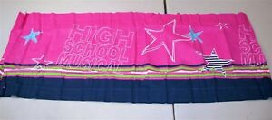 "Disney High School Musical Valance ~ Hot Pink ~ 15"" x 84"" **NEW**"