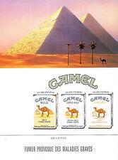 PUBLICITE ADVERTISING 074  1992  CAMEL  cigarettes 2