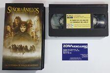 El Señor de los Anillos La Comunidad del Anillo, película VHS.