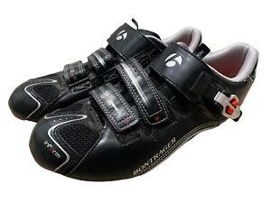 Bontrager Race DLX Cycling Road Bike Shoes Men's Size 9 Black
