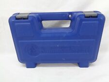 Smith and Wesson S&W Factory Pistol Revolver Carry Case Oem Gun Box Blue