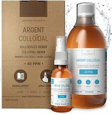 Argento Colloidale Puro 40 PPM Antibiotico Naturale Antibatterico 500ml