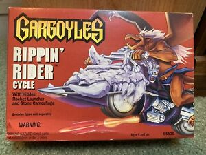 NEW! 1995 Kenner Gargoyles Rippin' Rider Cycle Vehicle No. 65536 Sealed Toy MIB!