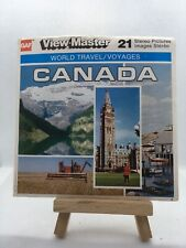 3 View Master Reels - CANADA - A090-C  - 🎞️