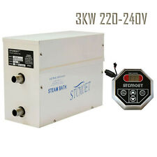 Steam Generator 3 KW Sauna /Bath Home SPA Shower 220v With Controller ST-135A