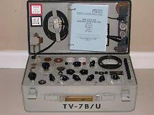 TV-7B/U Mutual Conductance Tube Tester - Calibrated