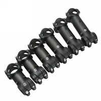 Aluminum Carbon Fiber 6/17 degree 60-120mm MTB Road Bike handlebar Stem 31.8mm