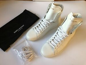 SAINT LAURENT Court Classic SL/01H HighTop Leder Sneakers EU 39,5 UK 5,5 NEU