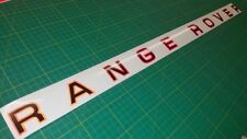 MK1 Range Rover 2 colour REFLECTIVE bonnet / tailgate decal sticker classic
