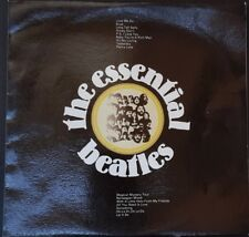 THE BEATLES - THE ESSENTIAL BEATLES APPLE TVSS8 OZ ONLY COVER ART WORK 1972 EX