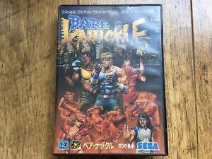 Bare Knuckle Megadrive Game! Jpn! Look In The Shop!