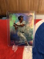 2020 Topps X Steve Aoki Carl Yastrzemski Rainbow Foil Parallel #92 Red Sox SP