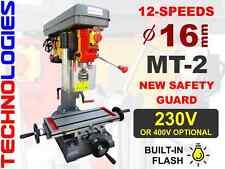 TOP MILLING MACHINE FOR HOBBYST WORKSHOPS 16mm MT2 / 230V OR 400V / NEW