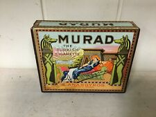 Antique Vintage Murad The Turkish Cigarette Box
