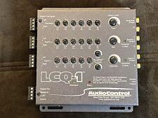 New listing Audiocontrol Lcq-1 6-Channel Loc w 13 Band Eq and AccuBass