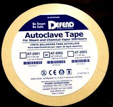 """Autoclave Sterilization Tape 3/4"""" 60YD Per Roll #AT-2002 Dental Defend Tapes"""