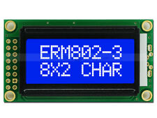 5V Blue Character 8x2 LCD Module Display w/Tutorial,HD44780,White Backlight