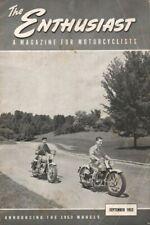 1952 September - The Enthusiast - Vintage Harley-Davidson Motorcycle Magazine