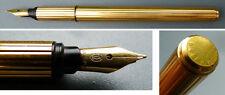 Beau stylo plume  CARTIER  plume en or 18k fountain   pen