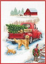 Counted Cross Stitch Kit WINTER RIDE Christmas Dimensions New Release!
