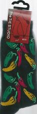 Chilli Pepper mexicano vegetal Unisex Novedad Calcetines de tobillo Tamaño Adulto 6-11