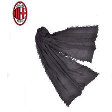 MILAN pashmina ENZO CASTELLANO bufanda de hombre negra 100% viscosa 200x80 cm