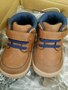 New with Tags, Baby Boys' Surprize by Stride Rite Branly Boots - Brown size 4