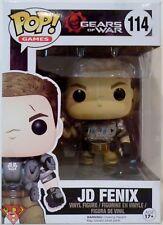 """JD FENIX Gears of War Pop Games 4"""" inch Vinyl Figure #114 Funko 2016"""